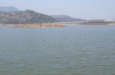 Amaravathi Dam - over view.