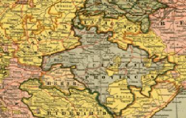 नागपूरचा ऐतिहासिक नकाशा