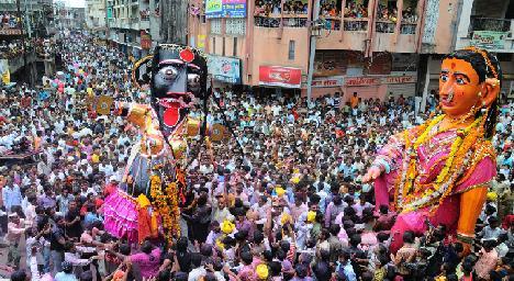 Marbat Procession nagpur