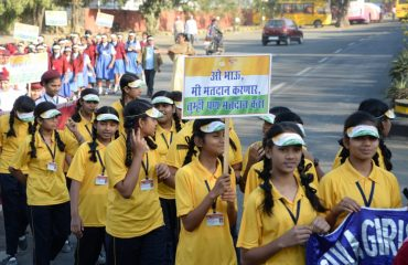 Youth rally on National Voter Day Nagpur