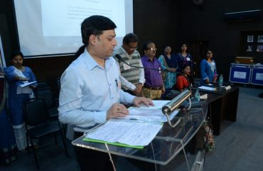 Collector Addressing on National Voter Day Nagpur
