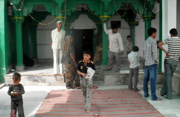 Outside view of dargah