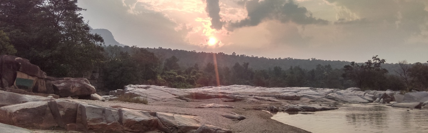 Devpahari Picnic Spot Sunset view