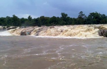 Devpahari Waterfall During Mansoon