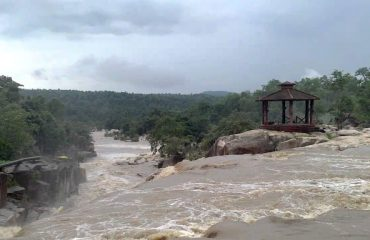 Devpahari Waterfall In Mansoon