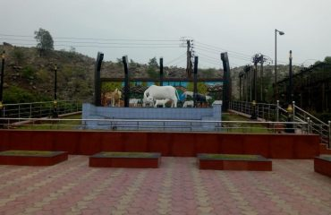 Sitamani Campus Cow Monument