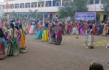Bathukamma Festival Celebrations in vikarabad