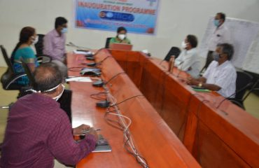 District Collector approving files in e-office