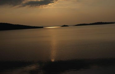 Bhadra Dam Sunset
