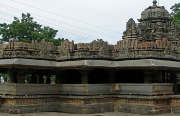 Siddhesvara Temple in Haveri City