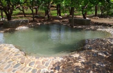 Small Pond created in Agadi Thota