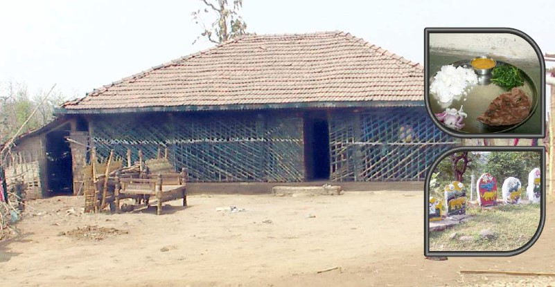 Photo of Typical Hut of Dang