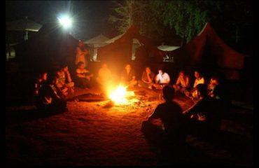 Photo of Campfire at Mahal Campsite