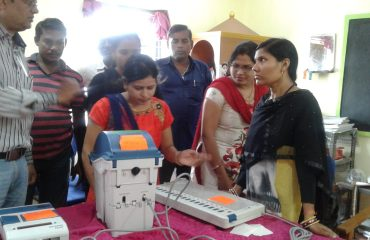 EVM & VVPAT Voter Awareness Campaign Gataura