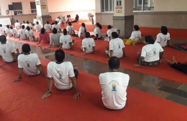 Yoga Day 2018 Attended by collectorate staffs