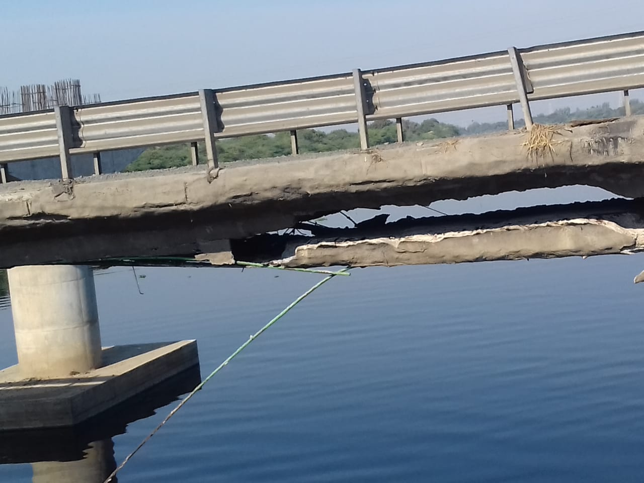 Vataman Tarapur Damaged Bridge...