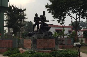 Statue at Shahid Smarak Meerut