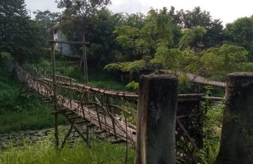 Old hanging Bridge at NEZCC