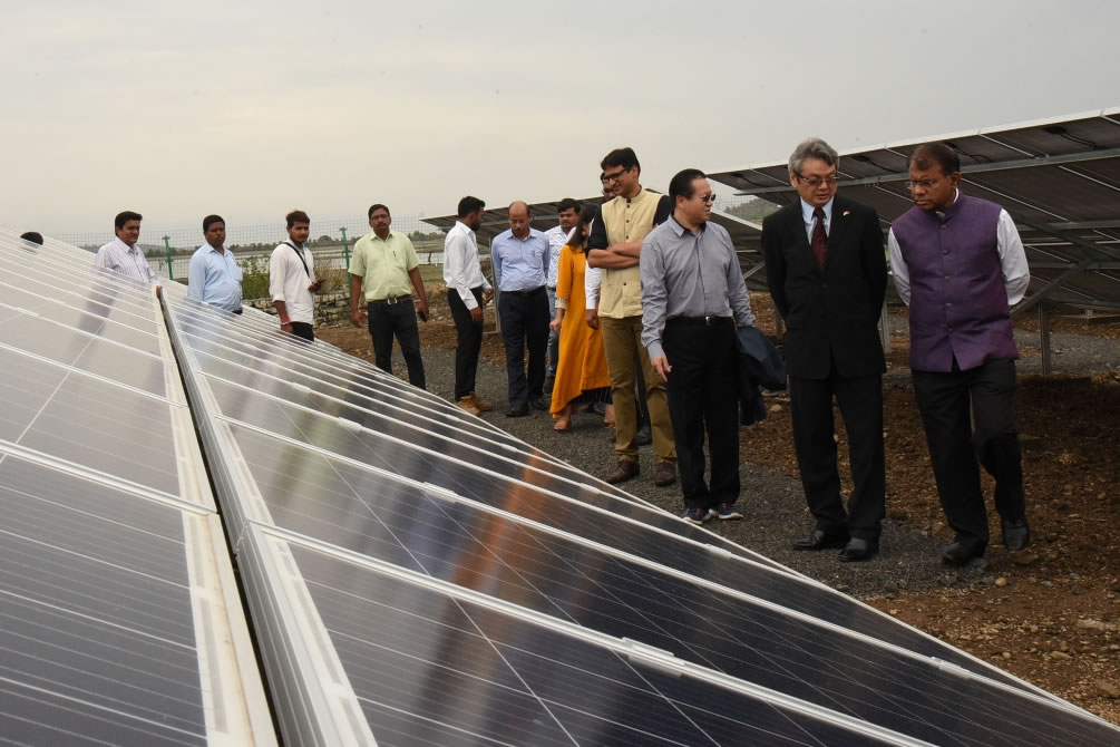 Inspection of Solar Panel