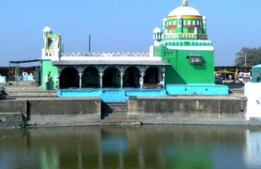 Lake view at Girad Dargah site.