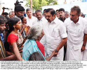 Hon'ble Chief Minister of Tamil Nadu visited Mettupalayam Nadur Village