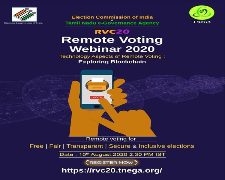 Election Remote Voting Popup