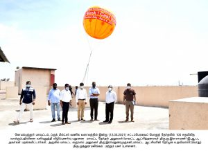 Tamil Nadu State Legislative Assembly Election - Signature Campaign under   SVEEP and Giant Balloon launched
