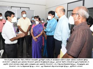 Corona Virus Prevention Work review meeting conducted by Chief Secretary