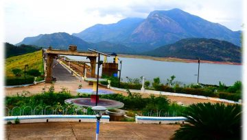 Aliyar Dam Side View