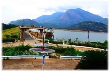 Aliyar Dam view