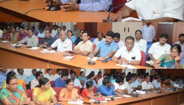 Review meeting conducted for the forth coming Parliamentary Election 2019