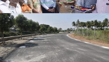 New Tar Road Inaugurated