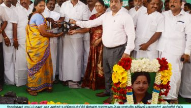 Chief Minister grievances petition receveing Camp conducted at Sulur