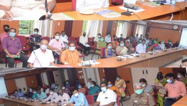 District Collector conducted a preparedness meeting to conduct UPSC Civil Services Preliminary Exam