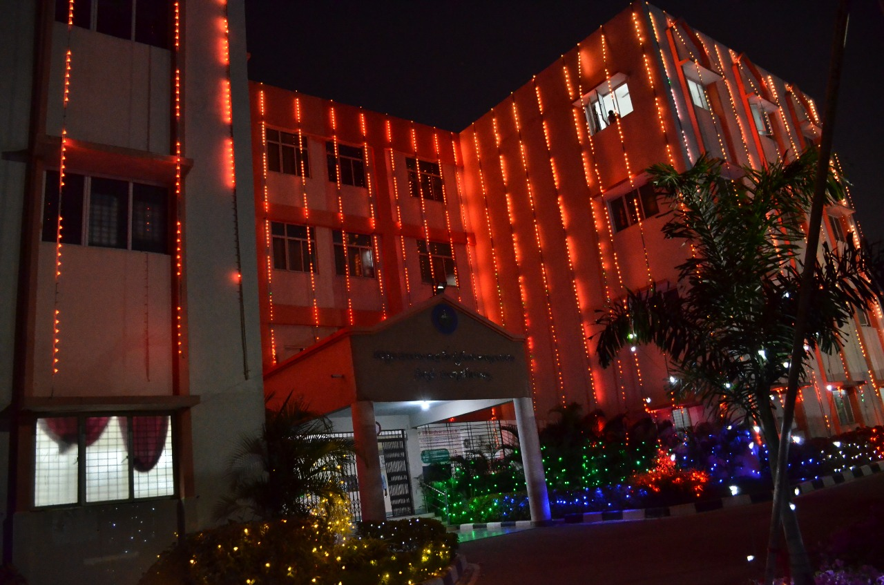 Collectorate at night