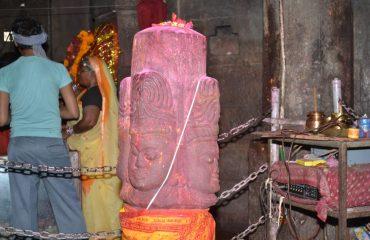 पंचमुखी शिवलिंग , मुंडेश्वरी मंदिर प्रांगन