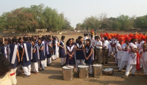 student at Women day