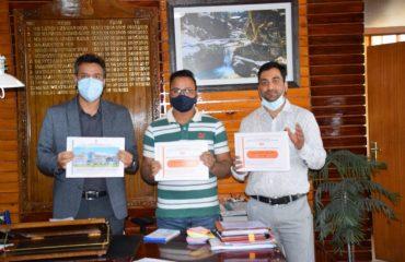 Launch of DSE Book Kulgam