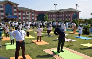 Yoga Day DC Office