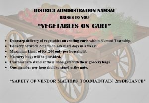 Vegetable on Cart Service