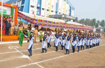 Government school students parade