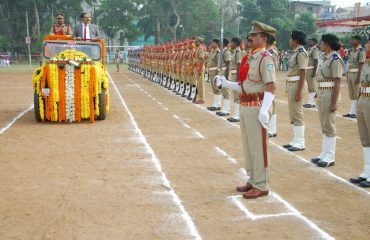 RA Taking Guard of Honour