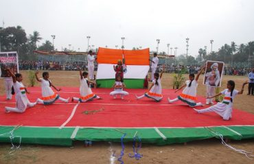 Cultural activity by girl students