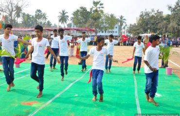 Dance activity by boys