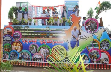 Education department tableau - 68th Republic Day Celebrations
