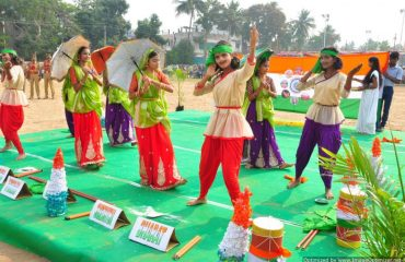 folk Cultural activity by students