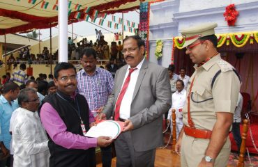 Merit certificate to NIC officer - 68th Republic Day Celebrations