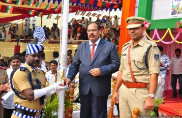 Distribution of prize for best policing