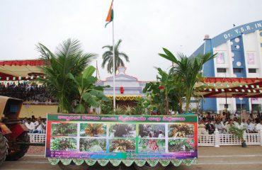 Agriculture dept. Tableau - 68th Republic Day Celebrations