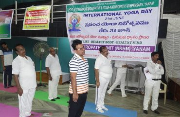 yoga Practice by Officials